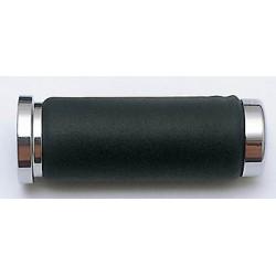 Handvatten Chroom/Leder (ø22mm)