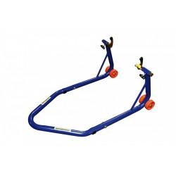 Motoprofessional Paddockstand Pro3 Blauw (achterzijde)