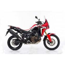 BOS uitlaatdemper Desert Fox zwart Honda CRF1000L