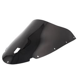 Airblade Dark Smoked Double Bubble Screen - Ducati 749 (With Cut Out) 03-04 999 (With Cut Out) 03-04