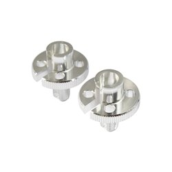 Bike It Cable Adjuster GSXR Type Chrome 10mm Thread - Pair