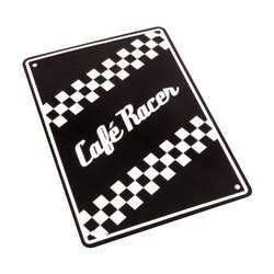 Bike It Aluminium Parking Sign - Caf� Racer