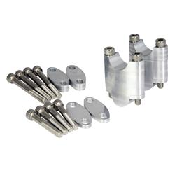 Bike It Aluminium CNC Multi-Stage Bar Riser - 22.2mm Bar Fitment