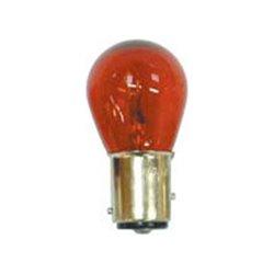 Bike It Red Tint Rear Light Bulb For Kawasaki And Yamaha 12V 23/8W S25 BAY15D