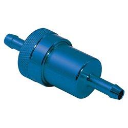 Original Anodised Blue 6mm Fuel Filter