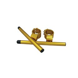 Bike It 41mm Gold Clip-On Bar Kit