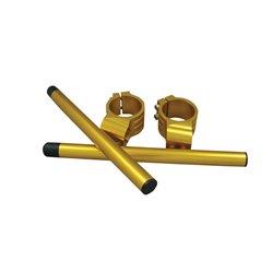 Bike It 48mm High Gold Clip-On Bar Kit