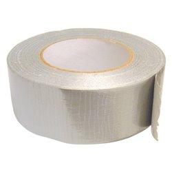Bike It Cloth Duct Tape Silver 1 Roll 50mm X 50M
