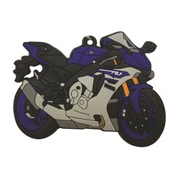 Bike It Yamaha YZF-R1 2015 Rubber Keyfob - 116