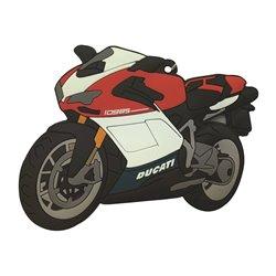 Bike It Ducati 1098 Rubber Keyfob - 117