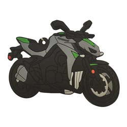 Bike It Kawasaki Z1000 15 Rubber Keyfob - 119