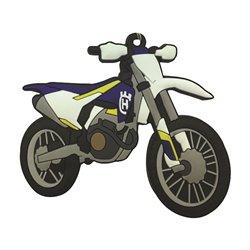 Bike It Husqvarna FC250 16 Rubber Keyfob - 121