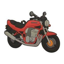 Bike It Suzuki Bandit Rubber Keyfob - 129