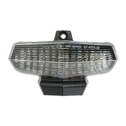 Bike It LED Rear Tail Light With Clear Lens And Integral Indicators - D061