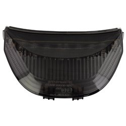 Bike It LED Rear Tail Light With Cool Grey Lens - H162