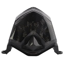 Bike It LED Rear Tail Light With Cool Grey Lens - K234