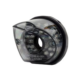 Bike It Vortex LED Rear Light With Cool Grey Tinted Lens