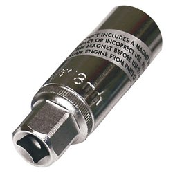 Bike It 18mm Magnetic Spark Plug Socket 3/8""