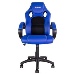 BikeTek Rider Chair Blue With Black Trim - Suzuki