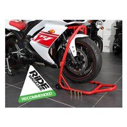 BikeTek Series 3 Front Headlift Track Paddock Stand - Red