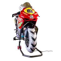 BikeTek Tyre Warmers EU 2 Pin Plug - 250cc / Supermoto - 160 Rear