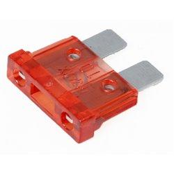 Zekering (Steek) 10A rood (10x)