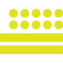 Stickerset reflector 24 delig