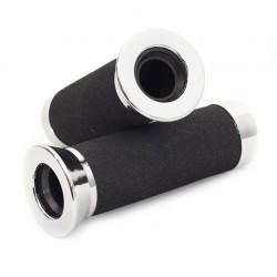 Handvatset foam/ chroomdop 22mm