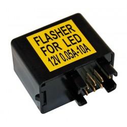 Knipperlicht Relais LED 7-polig 12V