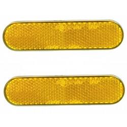 Reflectorset oranje ovaal