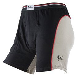 MotoGP Black/Grey Boxer Shorts - Medium 33-35