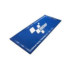 MotoGP Blue With White Logo Pro Garage Pit Mat 190 X 80cm