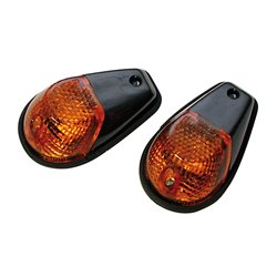 Knipperlichten Kuip Zwart/Oranje