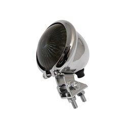 Achterlicht LED Bates Style chroom/getint
