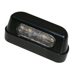 Kentekenplaatverlichting LED zwart