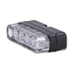 Kentekenplaatverlichting LED Mini zwart