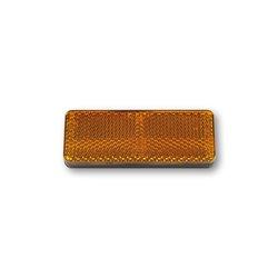 Reflector oranje voorvork 85x31mm