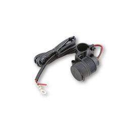 USB (dubbel) stuurhouder met kabelboom 12V
