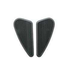 Sidepads (tankpads) zwart smal