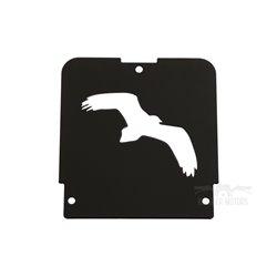 Sierplaat VKT (hawk) zwart