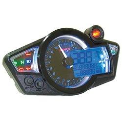 Cockpit digitaal GP-Style blauw licht/zwarte wijzers