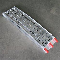 Oprijplaat aluminium Cross