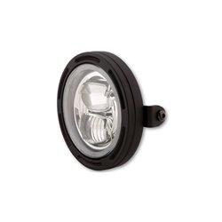 """Koplamp 5,75"""" LED Frame-R2 type-7 zwart"""