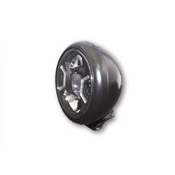 Spotlight 7� LED HD-Style Type-2 zwart (onderbevestiging)