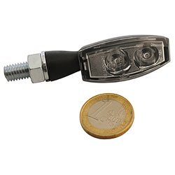 Knipperlichten LED Blaze zwart