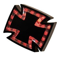 Achterlicht LED Gothic zwart