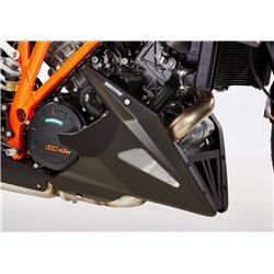BellyPan 1290 SUPER DUKE GT/R mat zwart