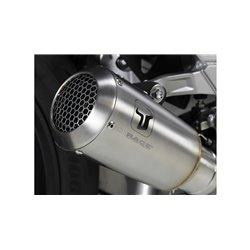 Compleet uitlaatsysteem MK2 Zilver | Kawasaki Z/Ninja/Versys 650
