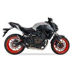 Compleet uitlaatsysteem MK2 Zilver | Yamaha MT-07/Tracer/XSR