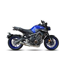 Compleet uitlaatsysteem MK2 Zilver | Yamaha MT-09/Tracer/XSR